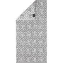 cawö Handtuch platin 50 x 100 cm, C-Muster