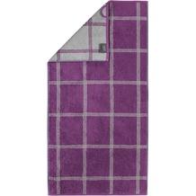 cawö Handtuch purpur 50 x 100 cm