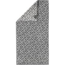 cawö Handtuch schiefer 50 x 100 cm, C-Muster