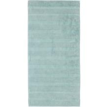 cawö Handtuch seegrün 50 x 100 cm, Querstreifen