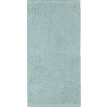 cawö Handtuch seegrün 50 x 100 cm, kleiner Saum