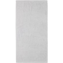 cawö Handtuch sterling 50 x 100 cm, mittlerer Saum