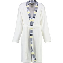 cawö Kurzmantel Kimono marine-gelb 36