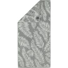 cawö Leaves Duschtuch platin 70x140 cm