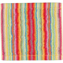 cawö Lifestyle Streifen Seiflappen multicolor 30x30 cm hell