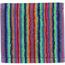 cawö Lifestyle Streifen Seiflappen multicolor 30x30 cm dunkel