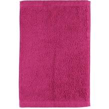 cawö Lifestyle Uni Gästetuch pink 30x50 cm