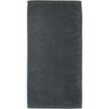 cawö Lifestyle Uni Handtuch anthrazit 50x100 cm