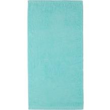 cawö Lifestyle Uni Handtuch eisgrün 50x100 cm