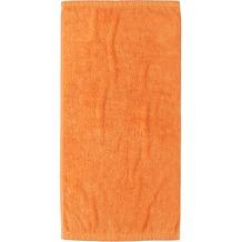 cawö Lifestyle Uni Handtuch mandarine 50x100 cm