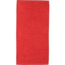 cawö Lifestyle Uni Handtuch mohn 50x100 cm