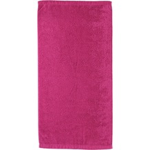 cawö Lifestyle Uni Handtuch pink 50x100 cm
