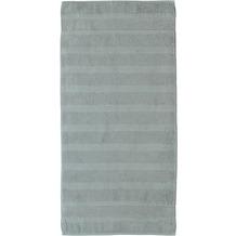 cawö Noblesse² Uni Duschtuch platin 80x160 cm