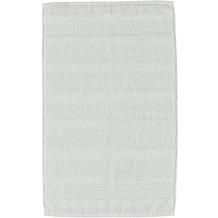 cawö Noblesse² Uni Gästetuch weiß 30x50 cm