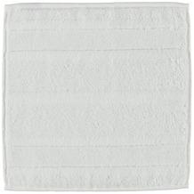 cawö Noblesse² Uni Seiflappen weiß 30x30 cm
