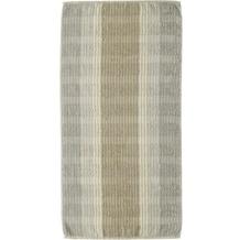 cawö Noblesse Cashmere Streifen Duschtuch sand 80x150 cm