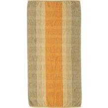 cawö Noblesse Cashmere Streifen Handtuch melba 50x100 cm