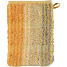 cawö Noblesse Cashmere Streifen Waschhandschuh melba 16x22 cm
