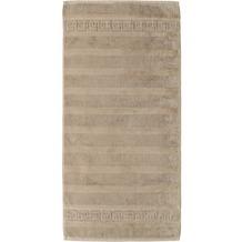cawö Noblesse Uni Duschtuch sand 80x160 cm