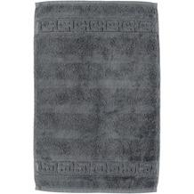 cawö Noblesse Uni Gästetuch anthrazit 30x50 cm