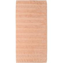 cawö Noblesse Uni Handtuch lachs 50x100 cm