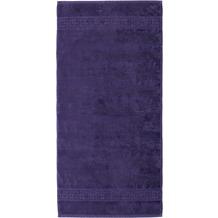 cawö Noblesse Uni Handtuch lila 50x100 cm