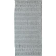 cawö Noblesse Uni Handtuch platin 50x100 cm