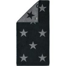 cawö Stars Big Duschtuch anthrazit 70x140 cm