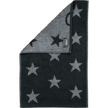 cawö Stars Small Handtuch anthrazit 50x100 cm