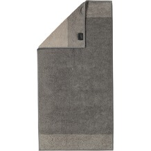 cawö Two-Tone Duschtuch graphit 80x150 cm