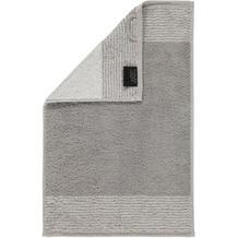 cawö Two-Tone Gästetuch platin 30x50 cm