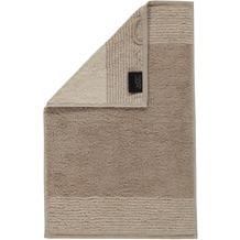 cawö Two-Tone Gästetuch sand 30x50 cm