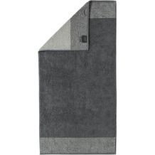 cawö Two-Tone Saunatuch schiefer 80x200 cm