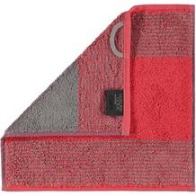 cawö Two-Tone Seiflappen rot 30x30 cm
