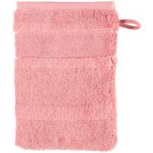 cawö Waschhandschuh rouge 16 x 22 cm Streifen
