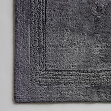 cawö Wende-Badteppich anthrazit 60 cm x 100 cm