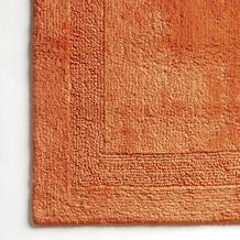 cawö Wende-Badteppich terra 60 cm x 100 cm