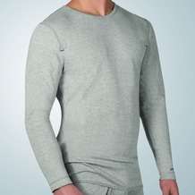 Ceceba O-Shirt, 1/1-Arm grey-melange L