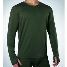 Ceceba O-Shirt, 1/1 Arm olive Übergröße 3XL
