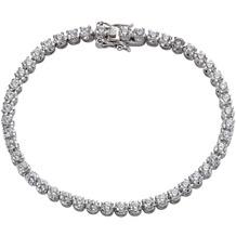 Celesta Silber Armschmuck 925/- Sterling Silber Zirkonia weiß 5839