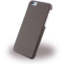 Cerruti 1881 Signature Trim - Leder Hardcase für Apple iPhone 6/6s - Braun