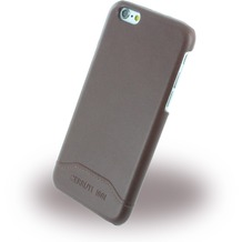 Cerruti 1881 Smooth Split - Kunstleder Hardcase für Apple iPhone 6/6s - Braun