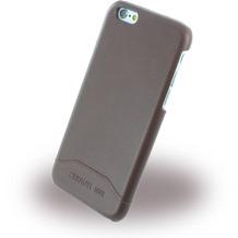 Cerruti 1881 Smooth Split - Kunstleder Hardcase für Apple iPhone 6/6s - Braun