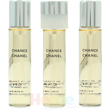 Chanel Chance Twist And Spray 3x Edt Spray Refill 20Ml - Twist and Spray 60 ml
