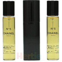 Chanel No 5 Giftset 2x Edt Spray Refill 20Ml / 1x Edt Spray 20Ml- Twist and Spray - Purse Spray 60 ml