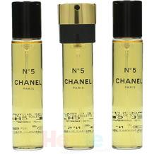 Chanel No 5 Giftset 3x Edt Spray Refill 20Ml - Twist and Spray - Purse Spray 60 ml