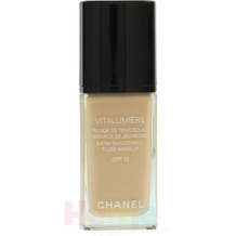 Chanel Vitalumiere Satin Smoothing Fluid SPF15 #20 Clair 30 ml
