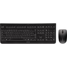 Cherry Tastatur-Maus-Set DW 3000 (JD-0710DE-2), schwarz
