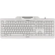 Cherry Tastatur KC 1000 SC (JK-A0100DE-0) weiß-grau