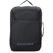 Chiemsee Travel Messenger Rucksack 41 cm Laptopfach deep black